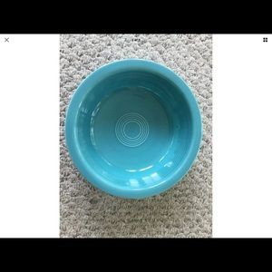 Gorgeous turquoise serving bowl